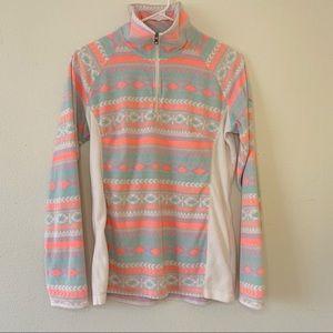 Columbia Women's Neon Fleece Quarter Zip